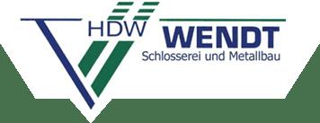 Schlosserei + Metallbau Wendt - Logo